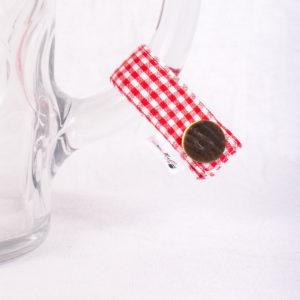 Festzelt, Masserl, Maßkrugmarker, Masskrugbänder, Glasmarkierungen, meimass, mei mass, mei bandl, filzmarker, Trachtenschmuck, Charivari, bierglasmarker, Masskrugbandl, Weinglasmarker, Henkel, Hirsch, Breze, Tracht