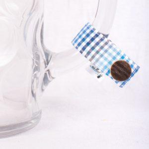 so schee, Masserl, Maßkrugmarker, Masskrugbänder, Glasmarkierungen, meimass, mei mass, mei bandl, filzmarker, Trachtenschmuck, Charivari, bierglasmarker, Masskrugbandl, Weinglasmarker, Henkel, Hirsch, Breze, Tracht