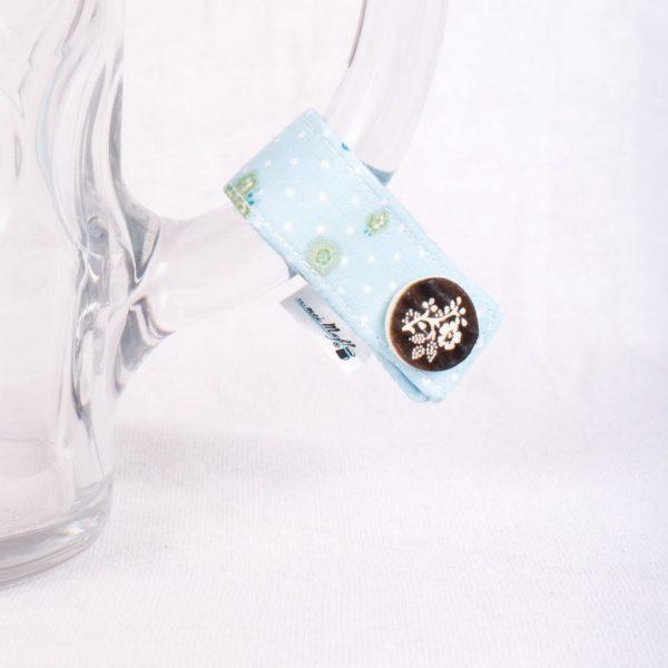 zuckerwatte-Blume, Masserl, Maßkrugmarker, Masskrugbänder, Glasmarkierungen, meimass, mei mass, mei bandl, filzmarker, Trachtenschmuck, Charivari, bierglasmarker, Masskrugbandl, Weinglasmarker, Henkel, Hirsch, Breze, Tracht